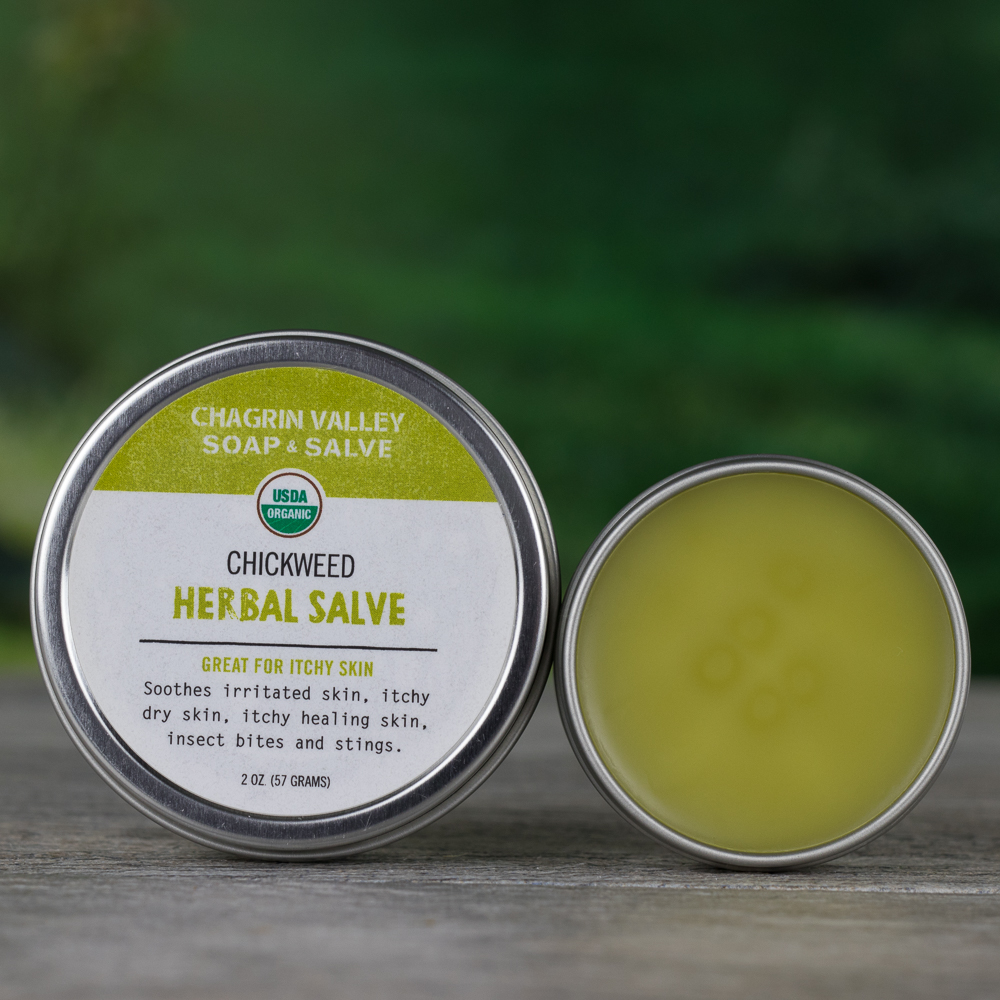 Salve Chickweed Chagrin Valley Soap