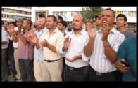 احتجاجات ضد مجزرة الغوطة السورية