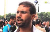 تصريح الأستاذ حسن بناجح خلال مسيرة المغاربة ضد الانقلاب