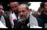 مسيرة البيضاء لنصرة غزة الابية