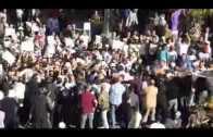فيديو التدخل لمنع وقفة أسفي تخليدا لذكرى الشهيد عماري 01 06 2014