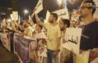 فعاليات الوقفة الاحتجاحية أمام البرلمان في الذكرى السادسة لاغتيال الشهيد كمال عماري