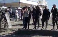 عاجل من الحسيمة  القمع ومحاصرة المحتجين يصل إلى الشواطىء