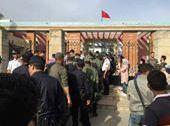 لحظة اعتقال الطلبة من كلية الحقوق بطنجة