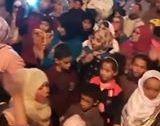 محاصرة قوى الأمن لموكب الشموع مدينة سيدي يحيى الغرب