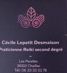 LEPETIT DESMAISON Cecile