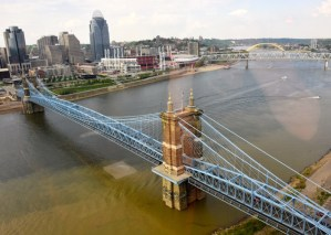 View of Cincinnati from the Metropolitan Club