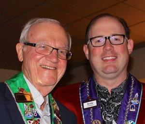 Bailli Honoraire Irwin Weinberg and Chevalier Kelly Fulmer