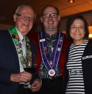 Bailli Honoraire Irwin Weinberg, Chevalier Kelly Fulmer and Barbara Weinberg