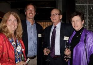 Vice Chancelier-Argentier Susan Verschoor, John Verschoor, Don McKee, Beth Rader
