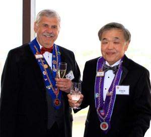 Vice Echanson Michael Monnin and Chevalier Chuck Hong