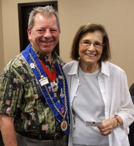 Chargé de Presse Provincial Midwest JT Mayer and Barbara Weinberg