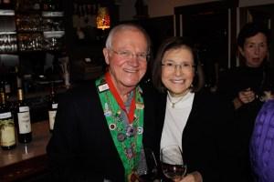 Bailli Hon. Irwin Weinberg and Barbara Weinberg