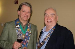 Chargé de Presse Provincial Midwest J.T. Mayer and Bill Eckerle