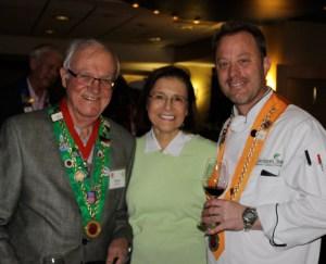 Irwin Weinberg, Barbara Weinberg, Chef Rôtisseur Alan Neace