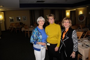 Jean Haynes, Carol Monnin, Evelyn Ignatow