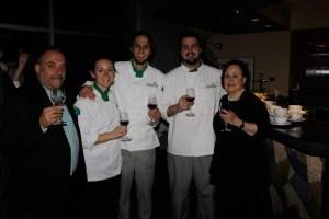 Chef Jean-Robert de Cavel, Young Chefs Katelyn Banks, Kevin Kleist, Nick Elison, Marilyn Harris