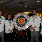 Young Chefs Kevin Kleist, Katelyn Banks, Nick Elison, Alan Neace
