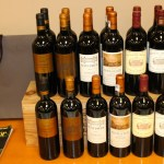 Bordeaux wine selections
