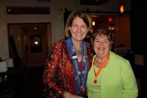 Susan Verschoor and Carmen Parks