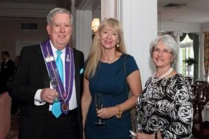 Chevalier Leo Flischel, Susan Flischel, and Jean Haynes