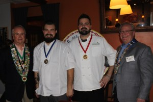 George Elliott, John Biehle (second place), Nick Ellison (first place), Clint Haynes