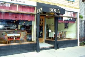 Boca Entrance