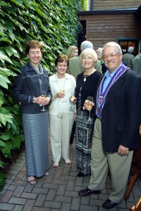 Marilyn Osborn, Mary Hainline, Dorothy Burdin, Tom Burdin