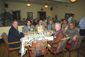 Bill Stratman, Sherie Marek, Mary Stratman, Jim Crowe, Margie Kyte, Larry Kite Jr., Len Marek, Joan Crowe