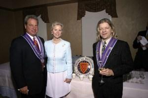 Chevalier Bill Stratman, Melody Sawyer Richardson, J.T. Mayer
