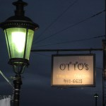 Street lamp and sign for Otto's