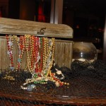 Treasure chest decoration
