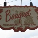 Bouquet sign