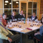 Happy group ready to sample Dunn wines