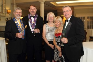 Mike Monnin, Clay Daley, Jr., Meredythe Daley, Melinda Croskery, Robert Croskery