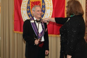 Cincinnati Art Museum Director Aaron Betsky was inducted as Chevalier
