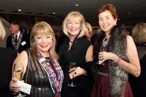 Dame Cindy Scott, Pamela Reis, and Marilyn Osborn