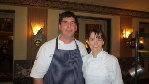 Executive Chef Todd Kelly and Pastry Chef Megan Ketover