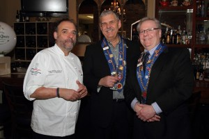 Chef Jean-Robert de Cavel, Mike Monnin, Clint Haynes