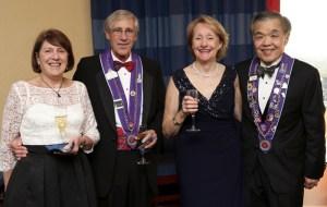 Joann Mead, Charles Mead, Barbara Miller, Chuck Hong