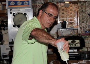 Owner Hugo Tostado