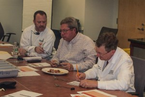 Chef Rôtisseur Alan Neace, Paul Parks, Jeffrey Sheldon