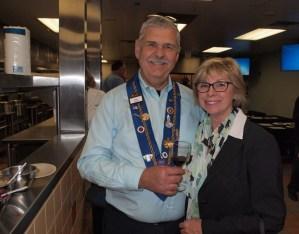 Vice Echanson Mike Monnin and Carol Monnin