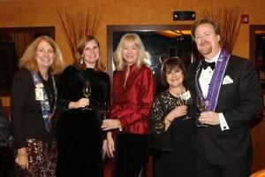 Susan Verschoor, Bethanie Butcher, Sue Flischel, Carol White and Eric Durbin