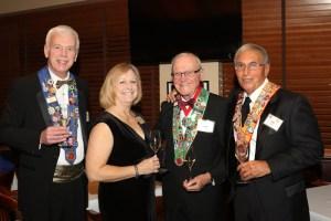 Graig and Jan Smith, Irwin Weinberg, and Pat Gaito