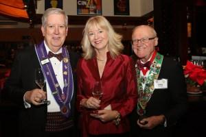 Lee and Sue Flischel and Irwin Weinberg