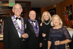 Bill Weyand, Alan Flaherty, Patricia Myers and Barbara Weyand