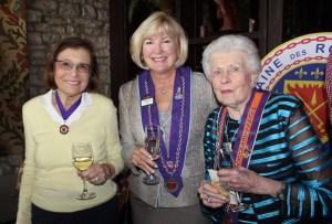 Dame Barbara Weinberg, Dame Pamela Reis, Professionnel du Vin Marj Valvano