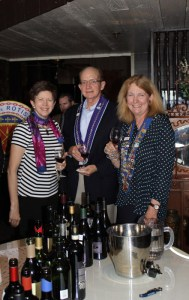 Beth Rader, Chevalier Don McKee, Dame Susan Verschoor