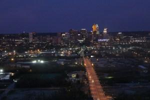 Cincinnati skyline from Prima Vista